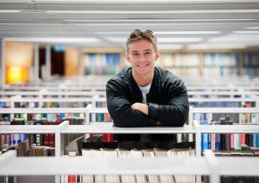 Universitets -och högskolerådet: Hugo, bild från artikel om högskoleprovet