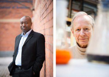 Michael Graham professor Stockholm buisness school samt Björn Åkermark professor kemi